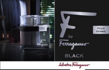 Salvatore Ferragamo Salvatore Ferragamo F by Black 100ml EDT VAPO