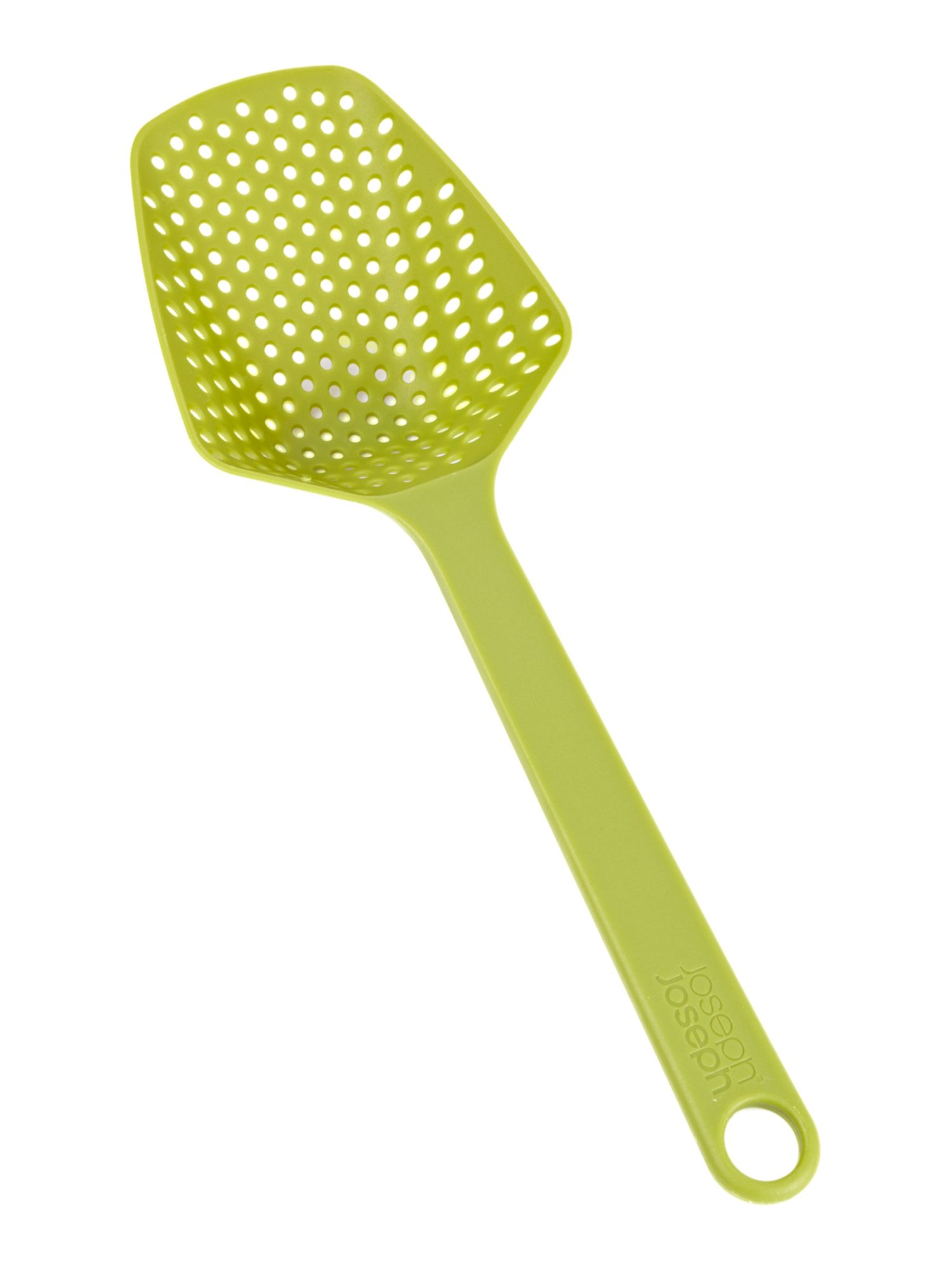 Green small scoop colander spoon