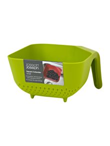 Green small square colander