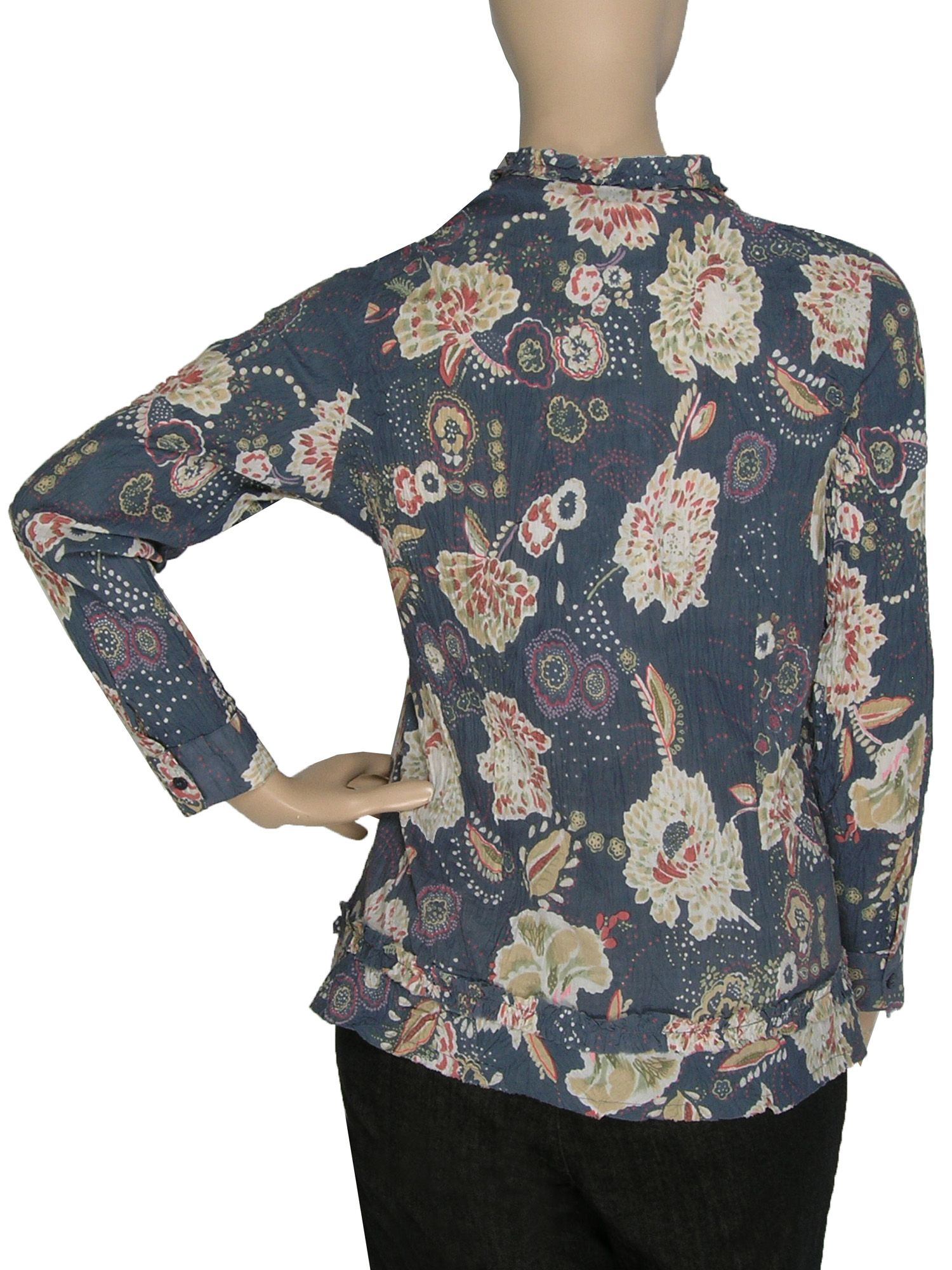 Ann Harvey Crinkle paisley blouse product image