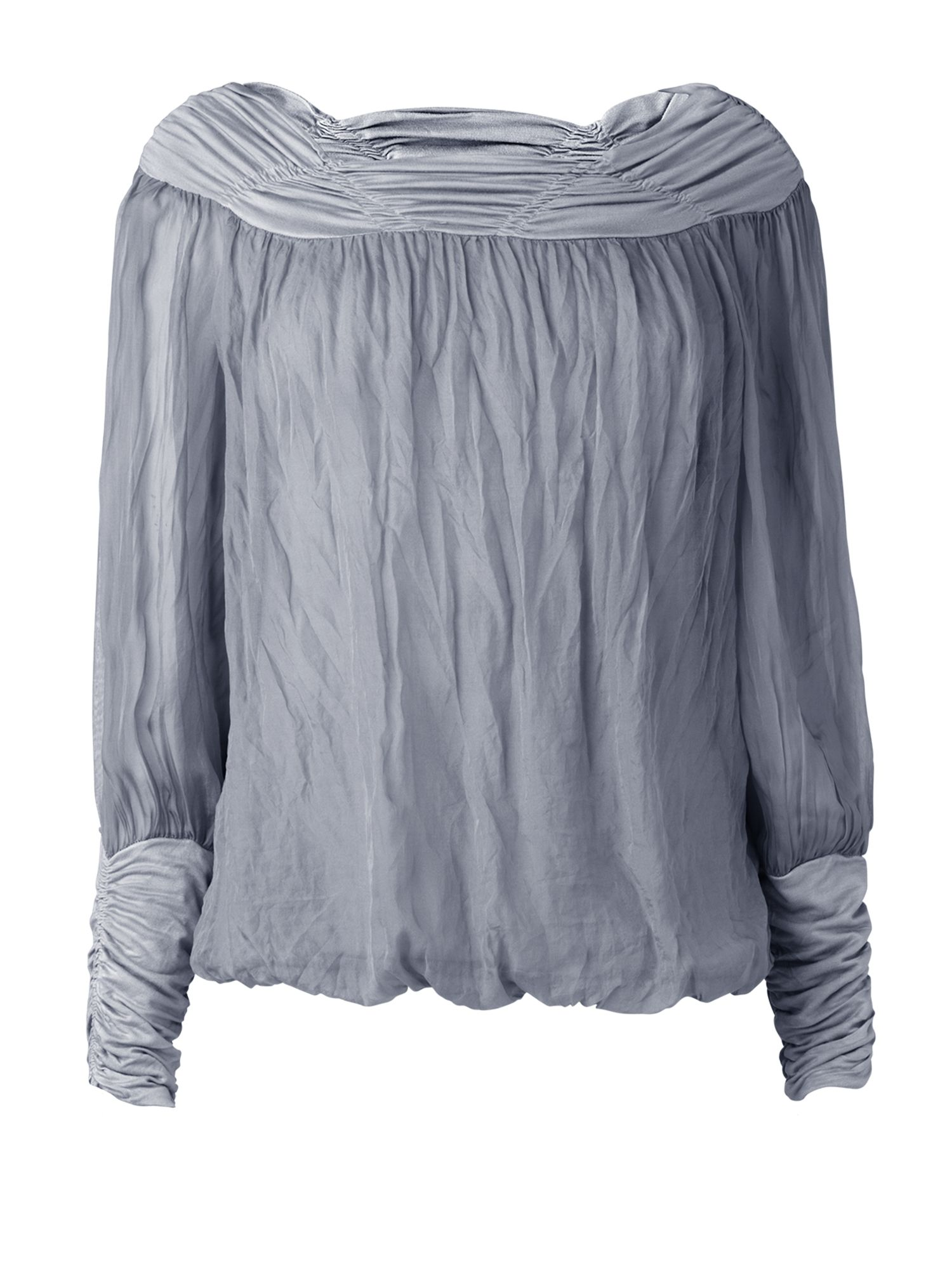 Phase Eight Womens Phase Eight Gypsy silk blouse, Blue product image