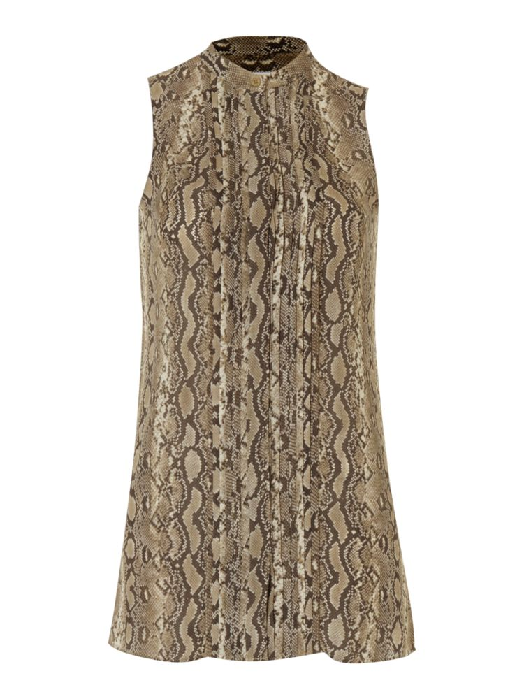 Michael-Michael-Kors-Sleeveless-Snake-Print-Tunic-Blouse-In-Stone