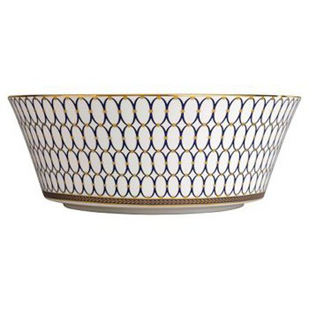 Wedgwood Renaissance gold round serving bowl