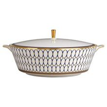 Wedgwood Renaissance gold covered vegetable dish