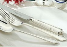 Dubarry silver plated 44 piece canteen