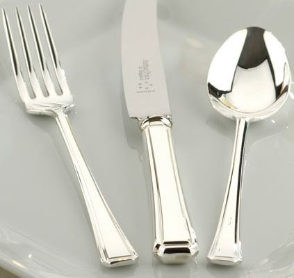 Harley silver plated 44 piece canteen