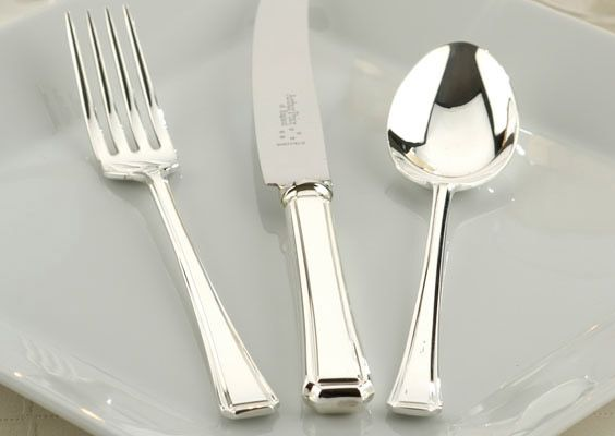 Harley silver plated 124 piece canteen