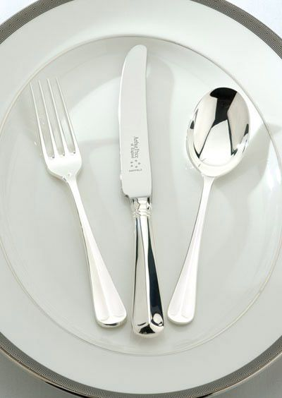 Rattail silver plated 84 piece canteen