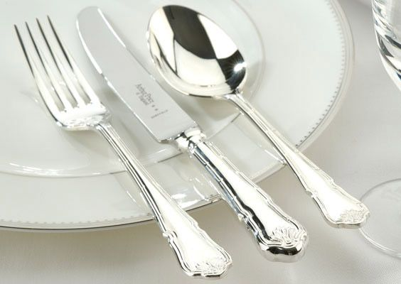 Ritz silver plated 84 piece canteen