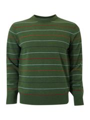 Howick Library fine stripe jumper