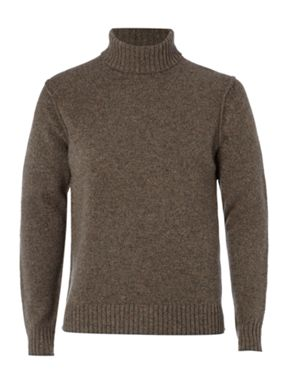 Howick Bowery roll neck jumper