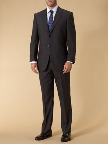 Howick Tailored Dark stripe formal suit jacket
