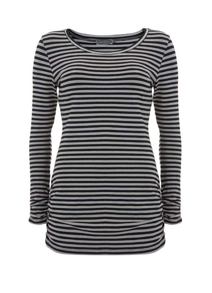 Mint Velvet Stripe long sleeve tee product image