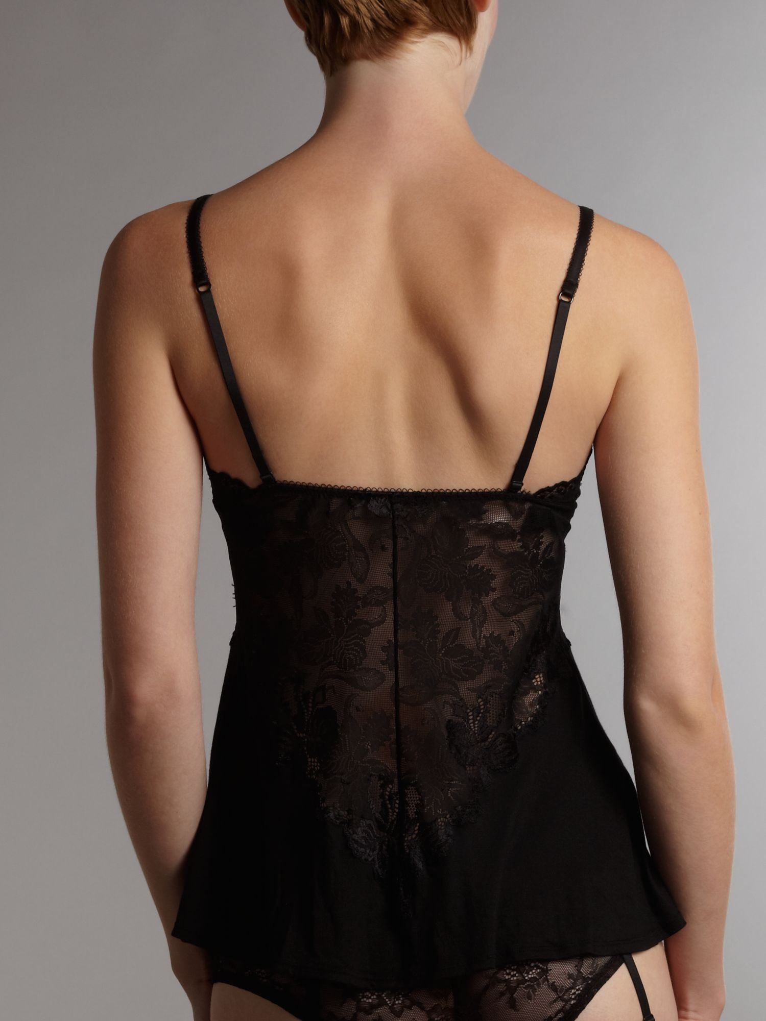 Spree black camisole