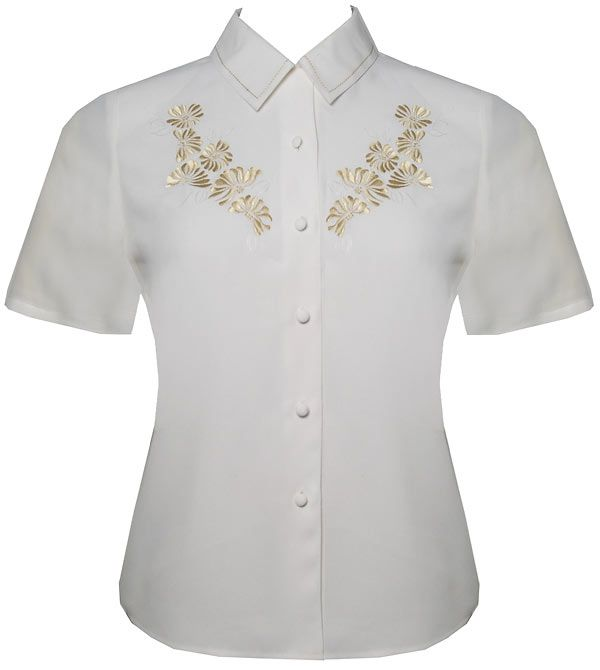Eastex Short sleeve embellished blouse product image