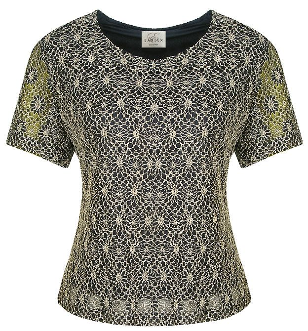 Eastex Lace shell blouse - Navy product image