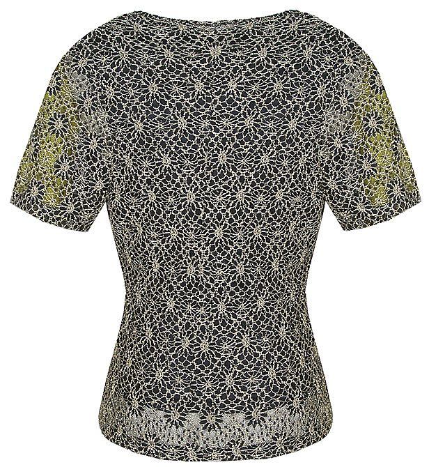 Eastex Lace shell blouse Navy product image