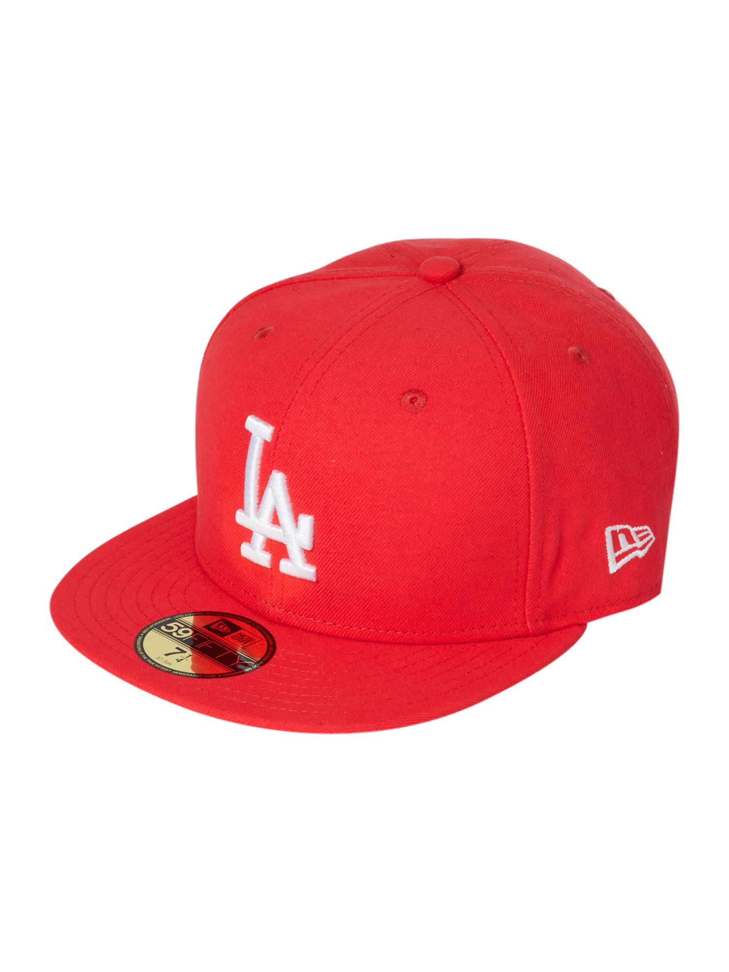 New Era LA dodgers 59 fifty baseball cap - Red product image