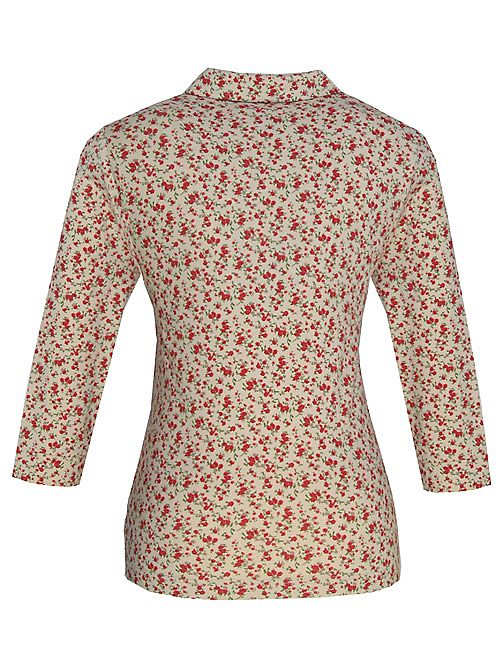 Dash Ditsy print blouse Cream product image