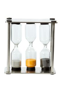 Stainless steel professional egg timer