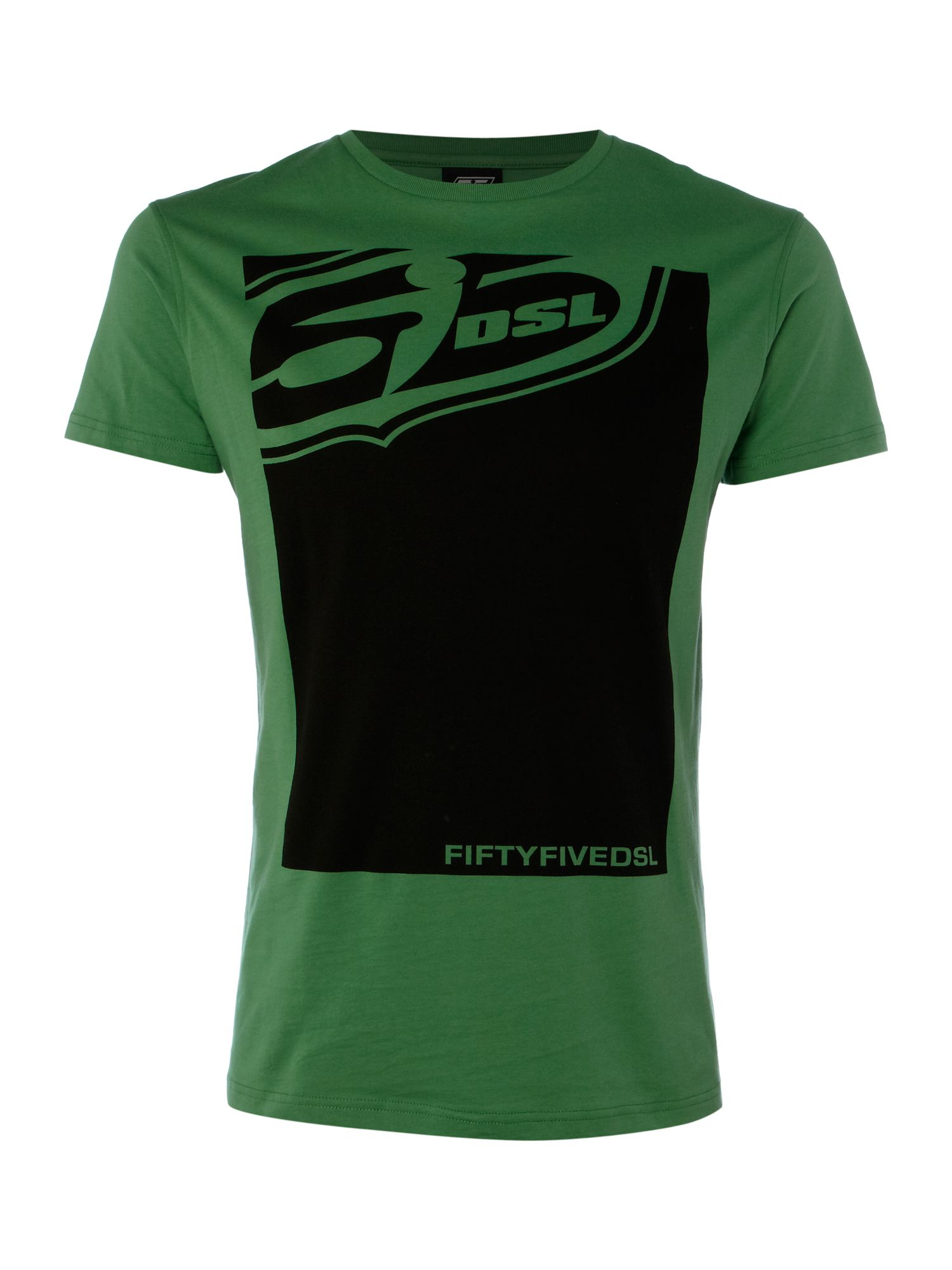 55 DSL Large logo T-shirt - Green S,S,S product image