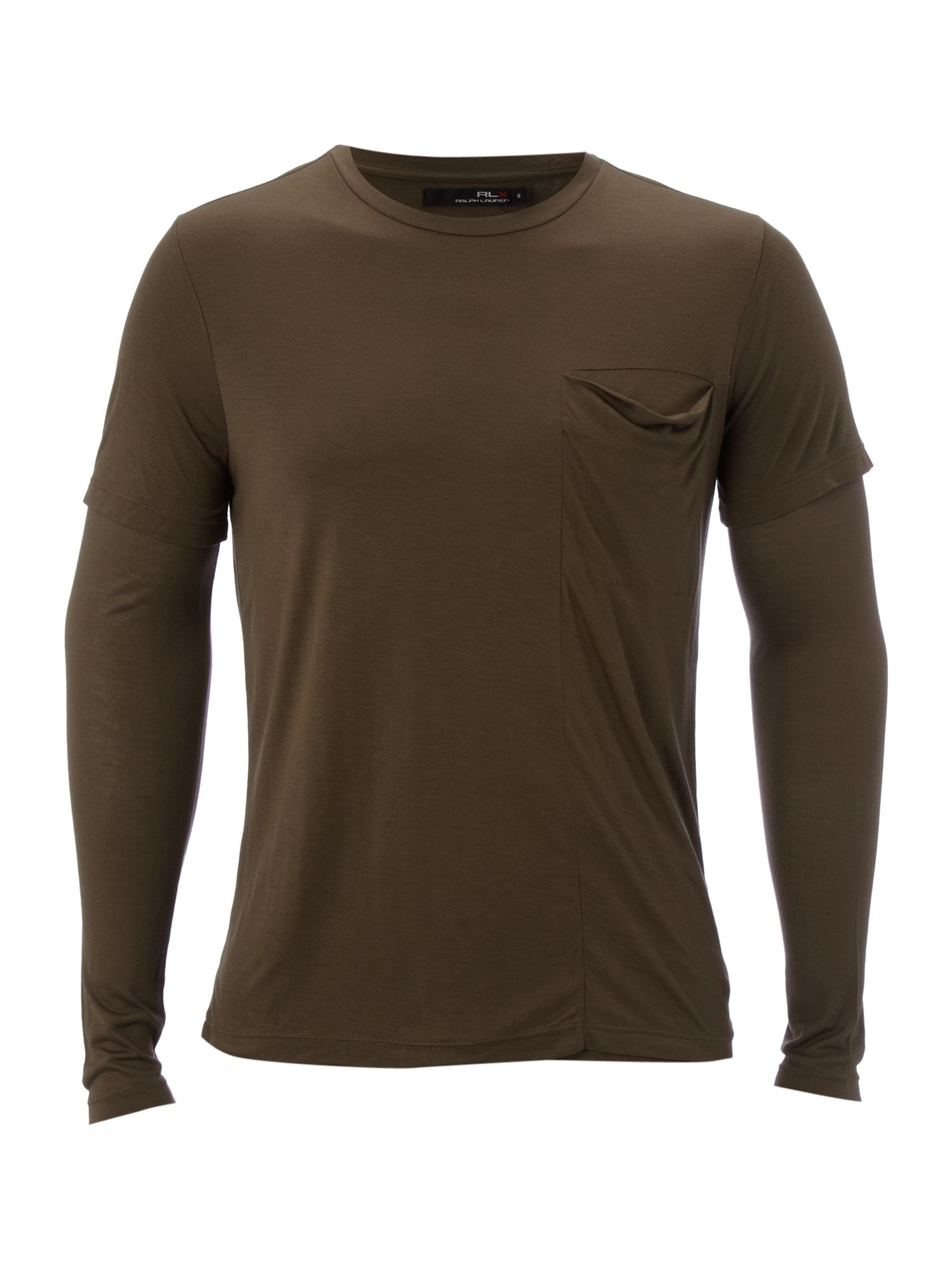 RLX Long-sleeved double layer T-shirt - Olive product image