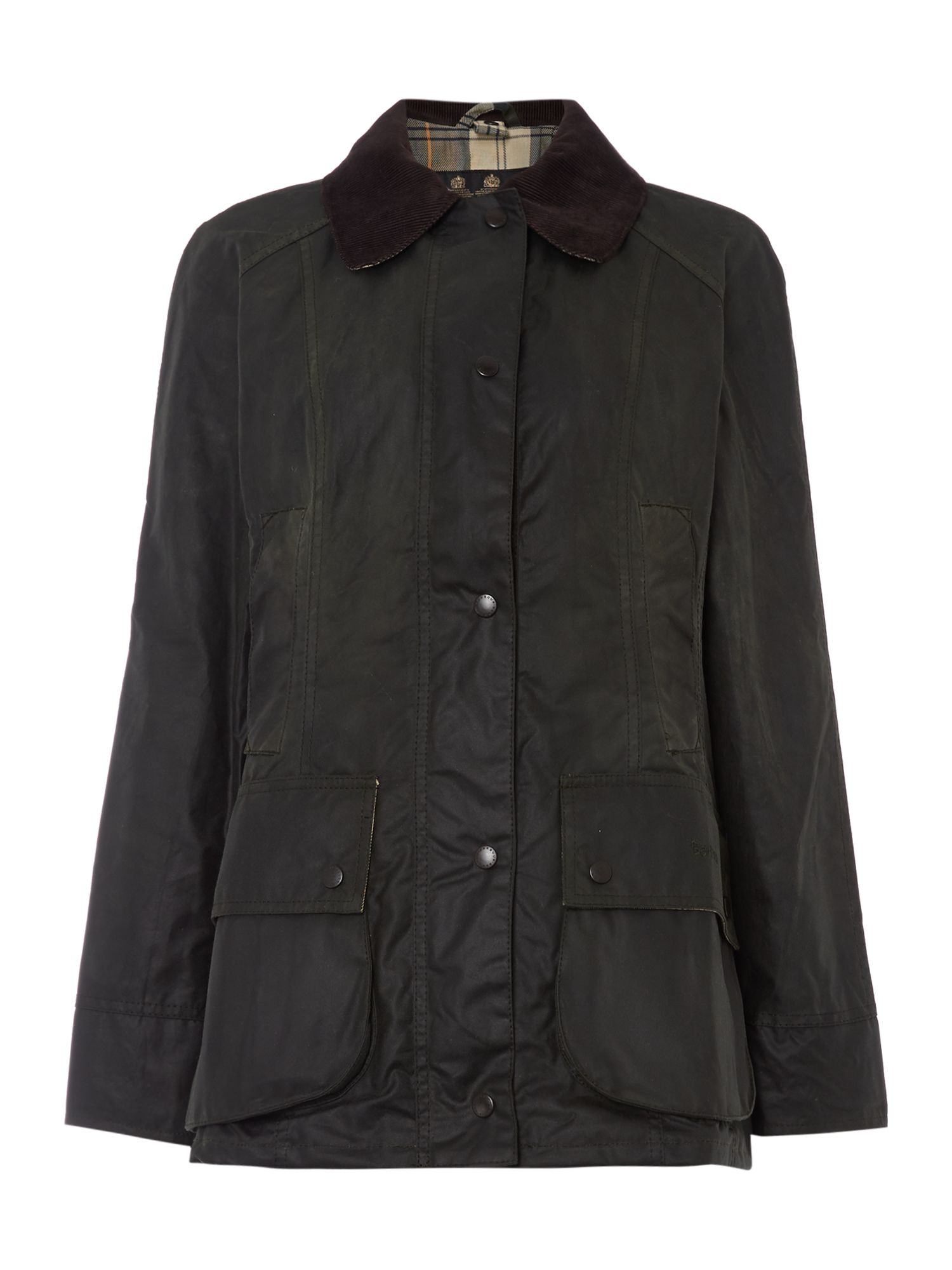 Barbour Beadnell waxed jacket, Sage