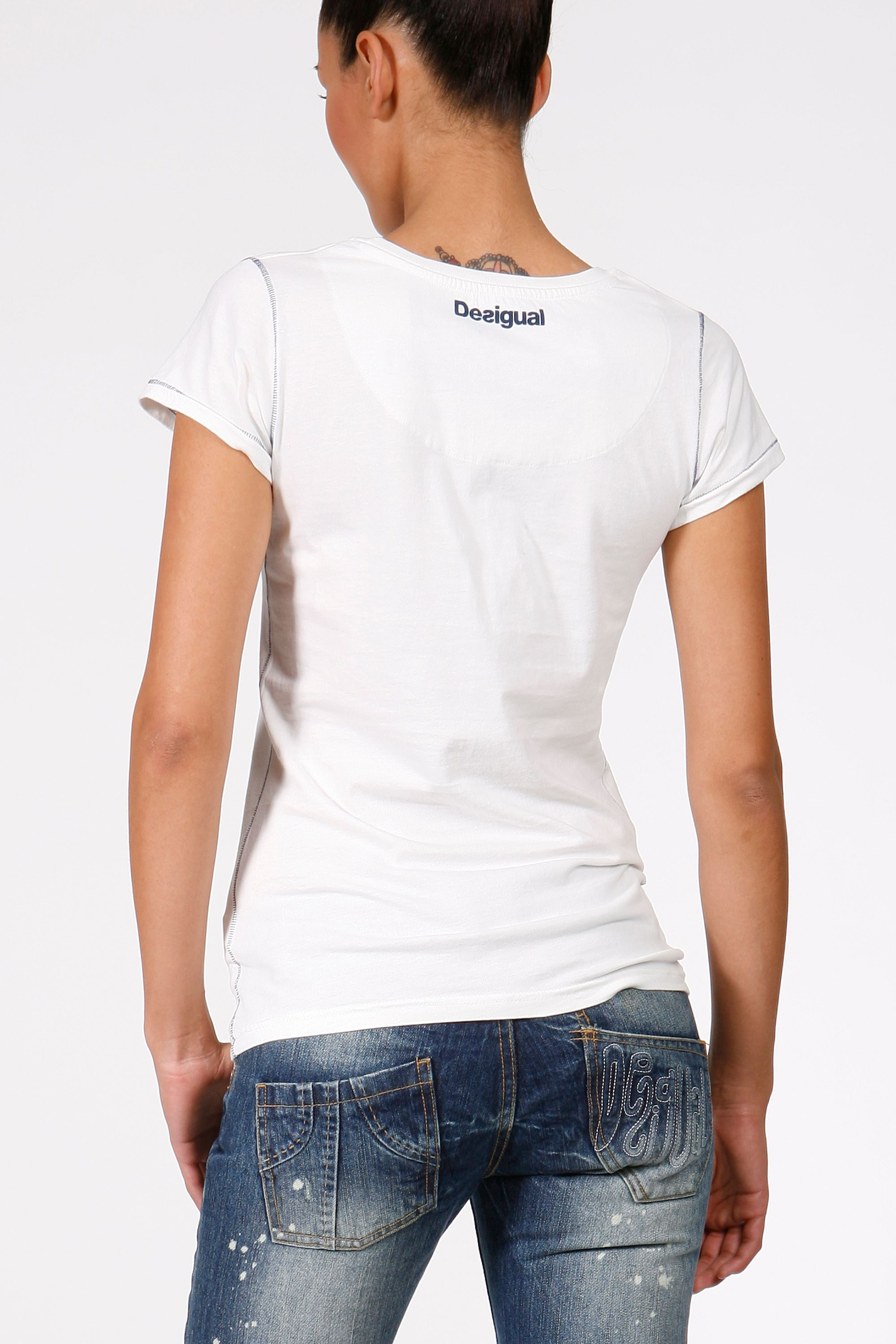 Desigual T-shirt more for less Off White product image