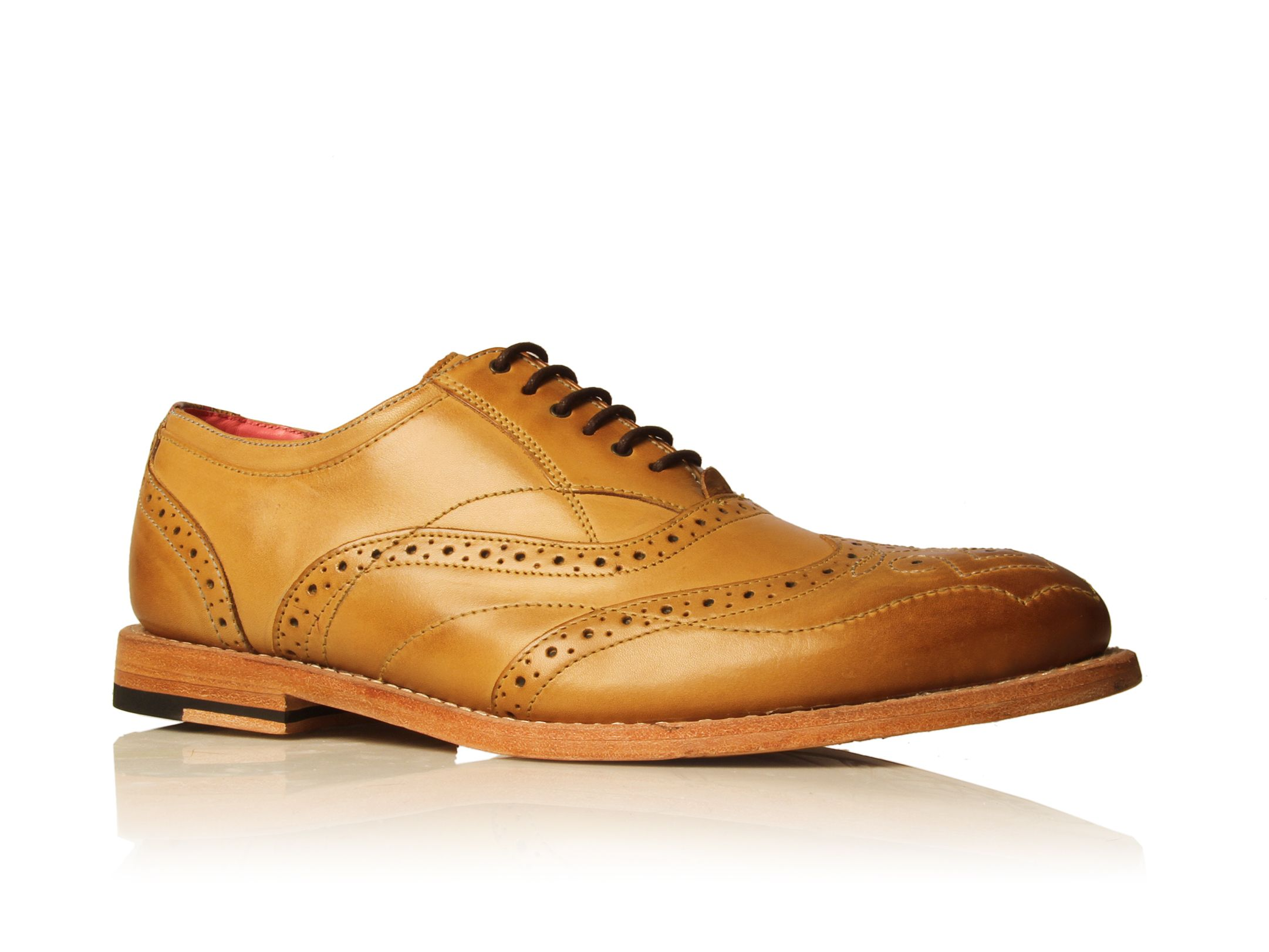 Cashback Delsin 2 lace up shoes Tan by Ted Baker 11
