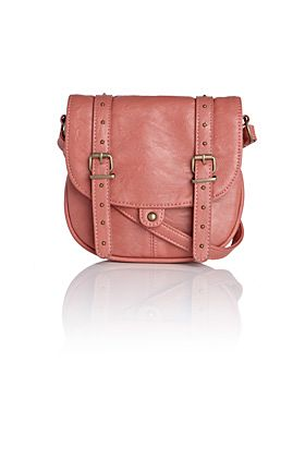 Warehouse Small pu crossbody Pink product image