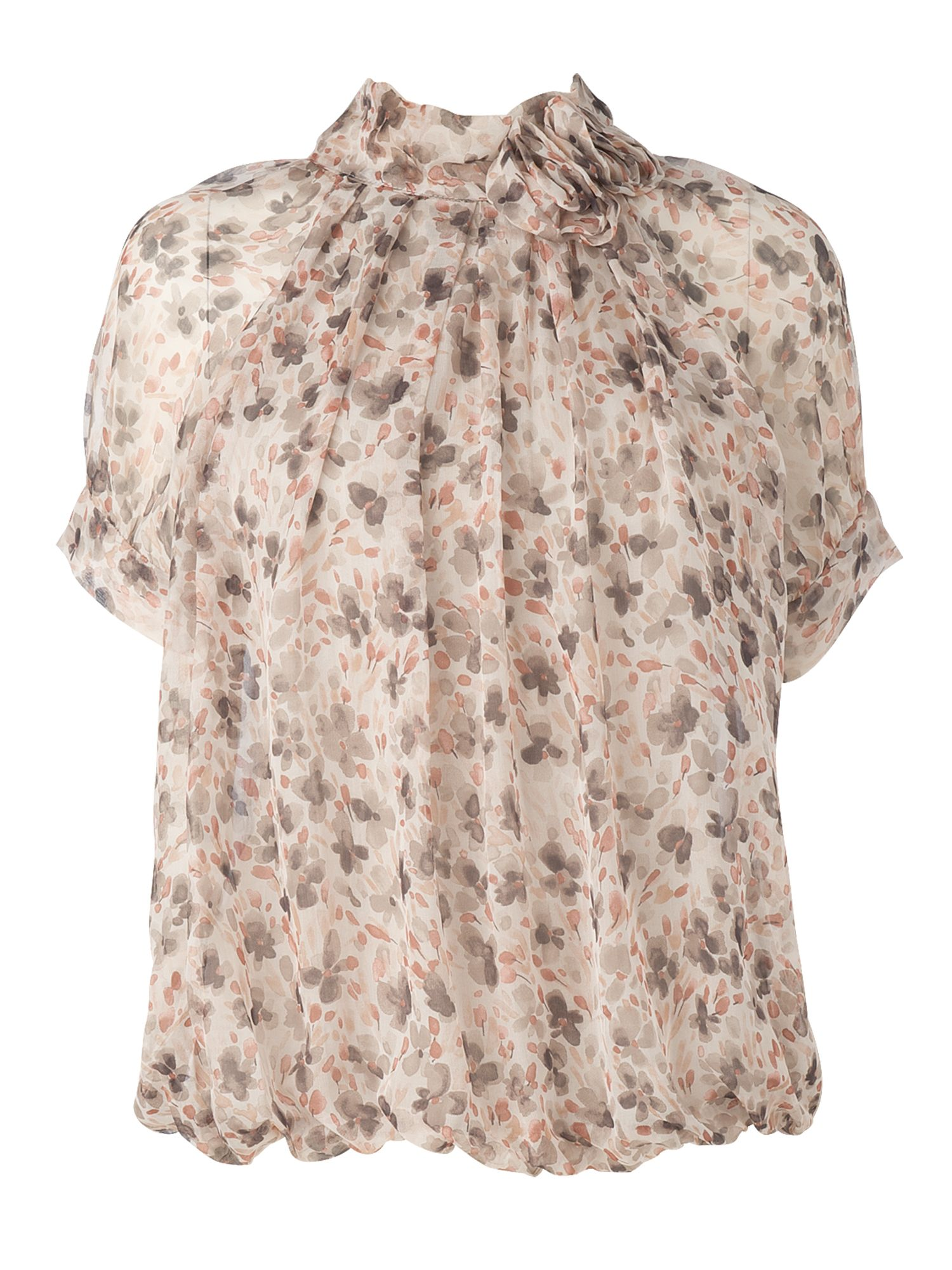 Phase Eight Dawn silk flower blouse - Multi-Coloured XS,XS product image