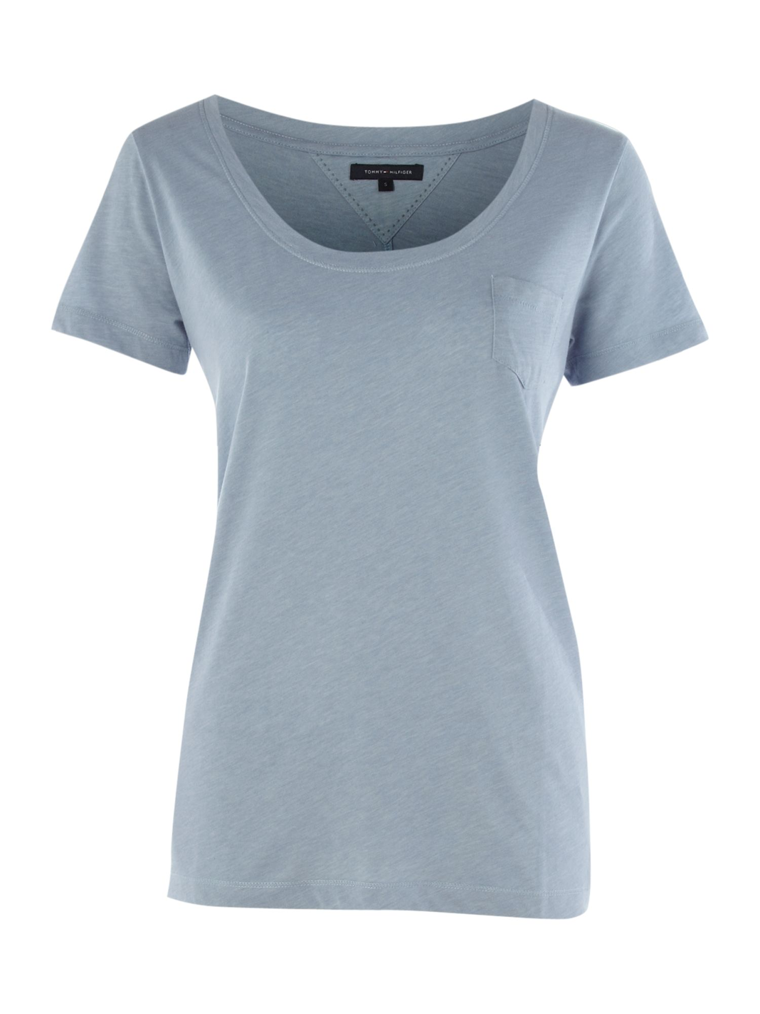 Tommy Hilfiger Luisa boyfriend t-shirt - Taupe product image