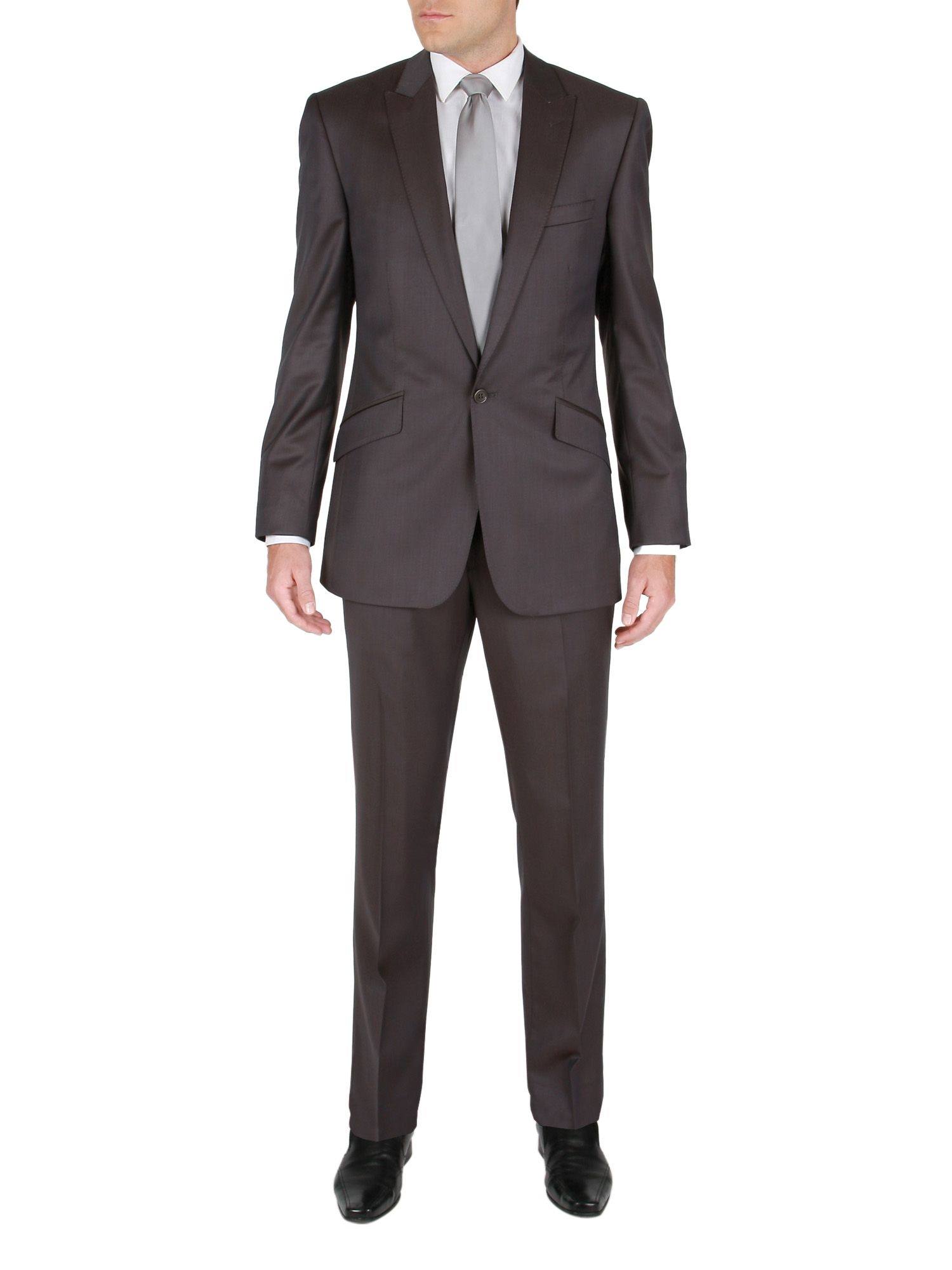 Plain half canvas suit