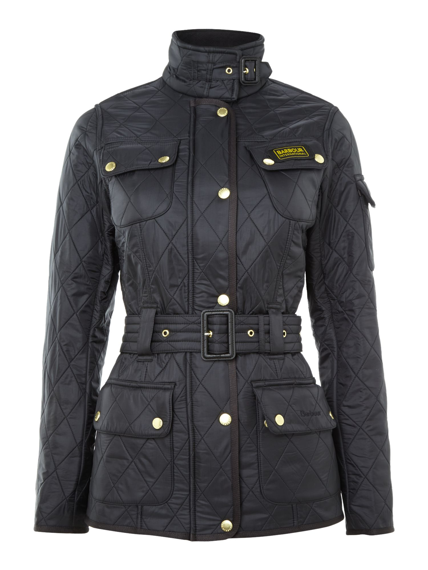Barbour Jacket Womens : womens barbour international quilted jacket -