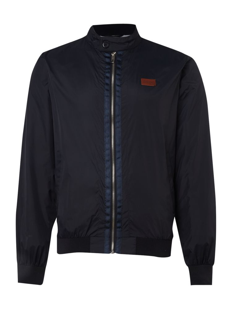 Jack-and-Jones-Lightweight-Zip-Through-Jacket-In-Navy