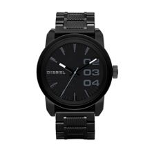 Diesel DZ1371 Double down black men`s bracelet watch