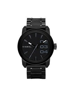DZ1371 Double down black men`s bracelet watch
