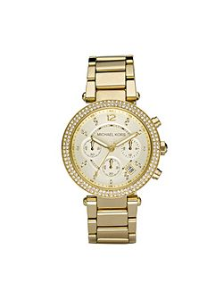 Michael Kors MK5354 Parker Gold Ladies Bracelet Watch