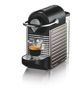 Krups Nespresso Pixie Titanium Coffee Machine XN300540