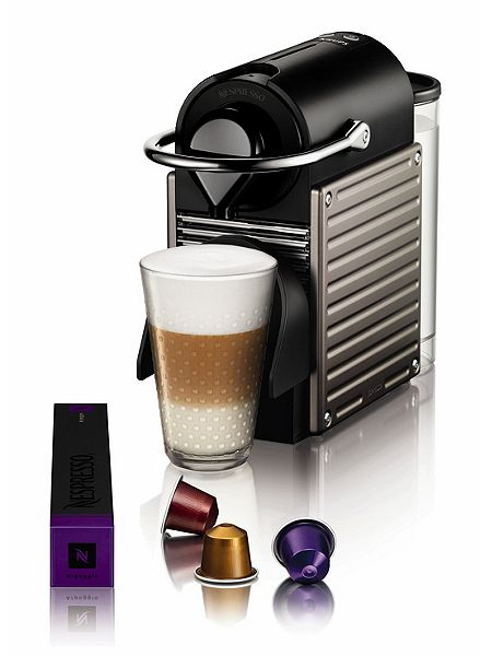krups nespresso pixie titanium coffee machine xn300540 house of fraser. Black Bedroom Furniture Sets. Home Design Ideas