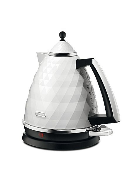 Delonghi Brillante White Kettle KBJ3001.W
