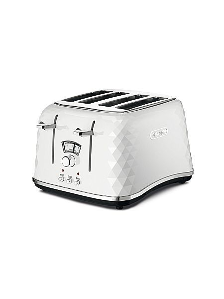Brillante White 4-Slice Toaster CTJ4003.W