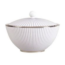 Wedgwood Pin stripe sugar box