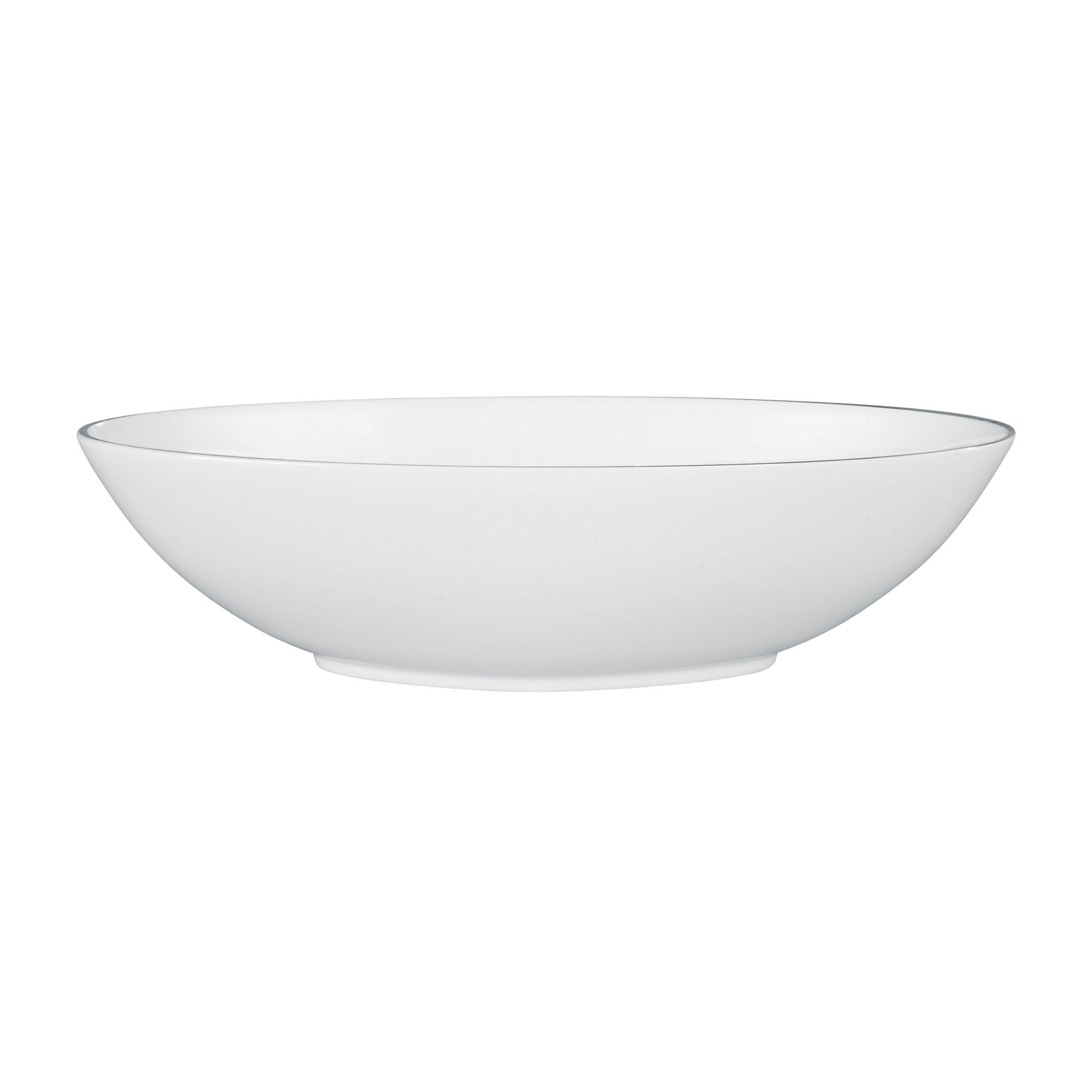 Platinum Serving Oval Bowl