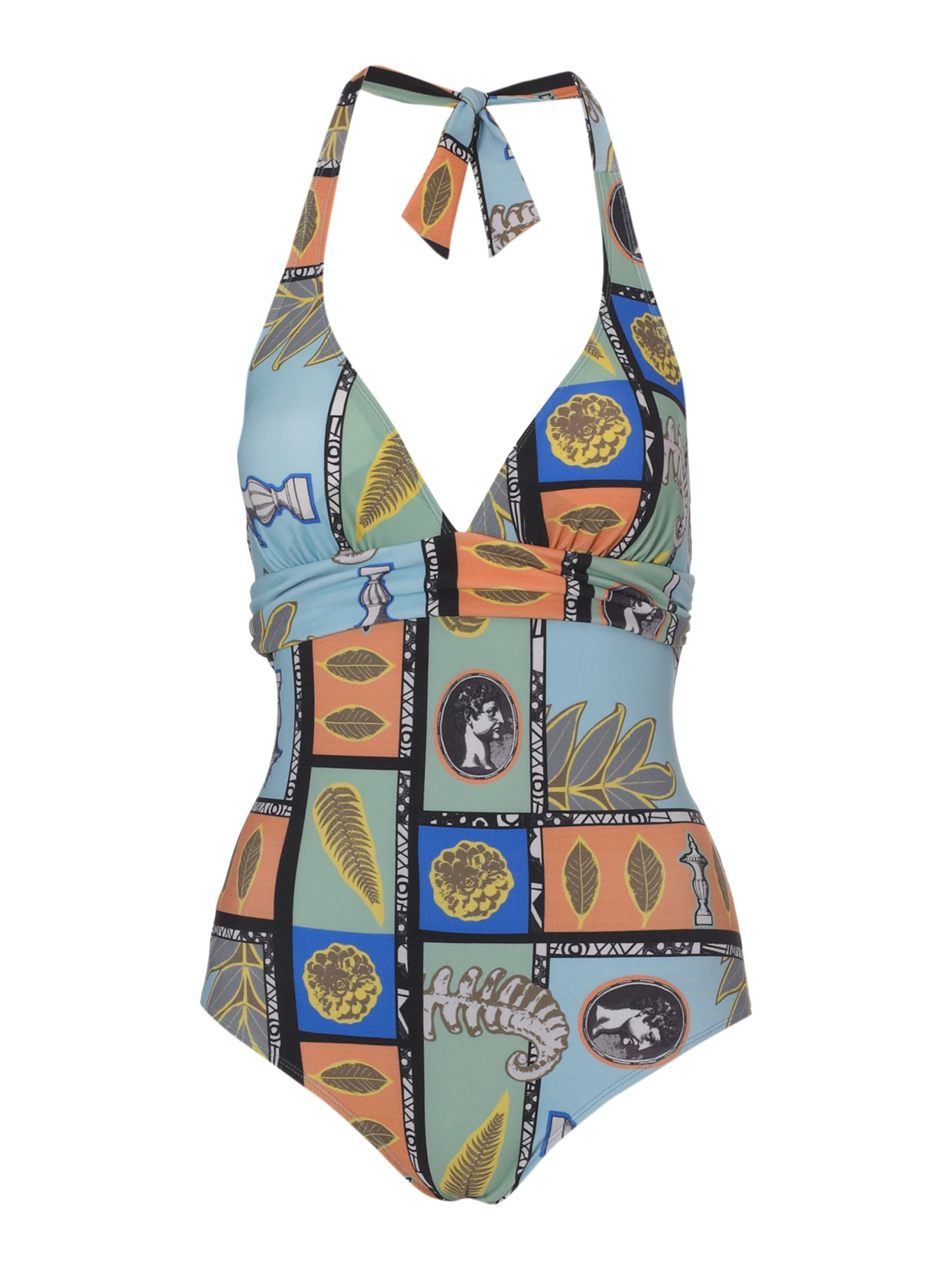 Timney Collage print swimsuit - Multi-Coloured product image