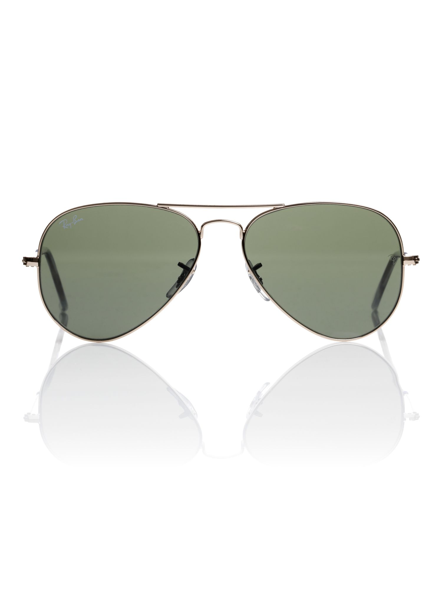 Unisex RB3025 W3234 Metal Aviator Sunglasses