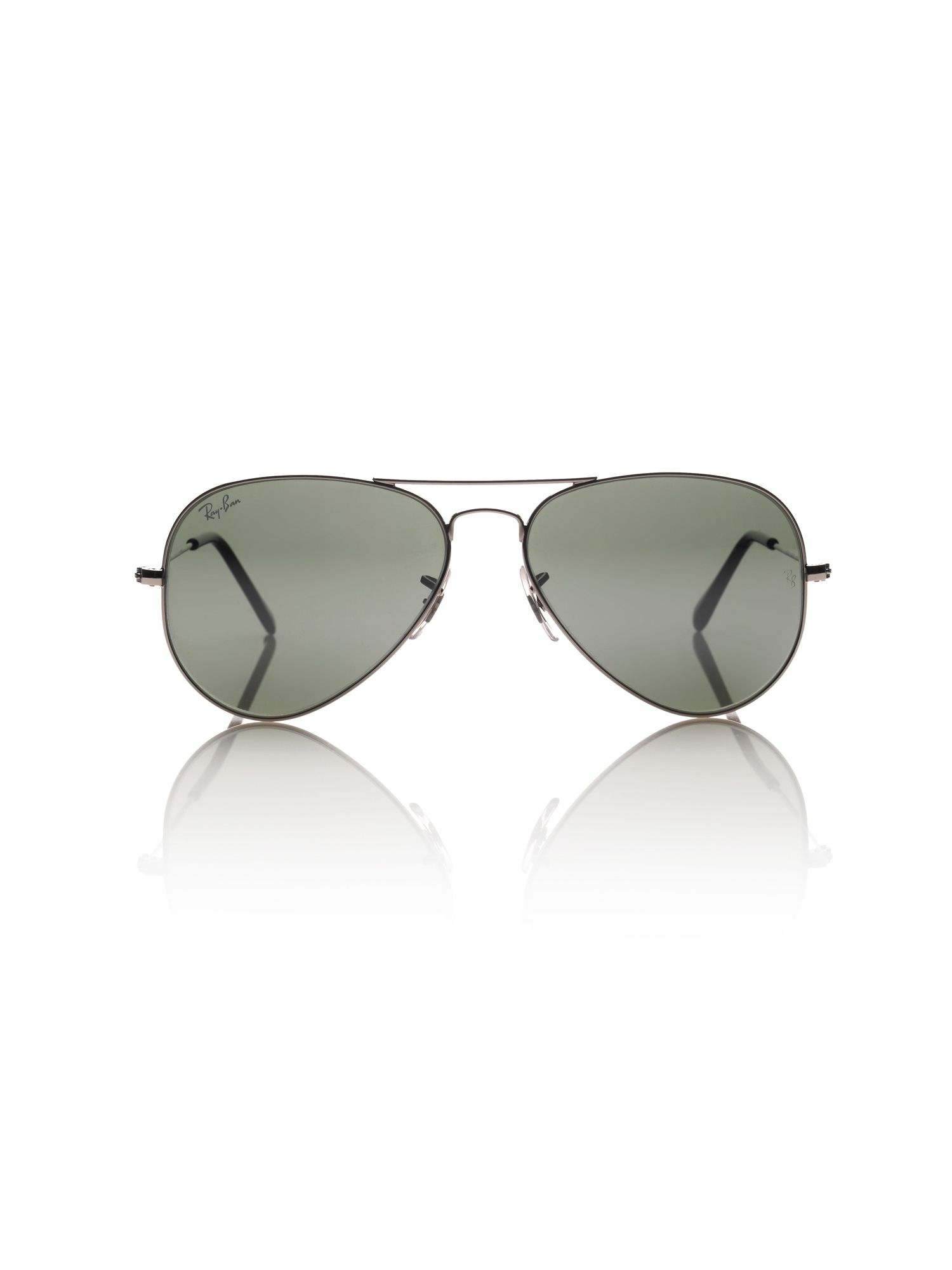 Unisex RB3025 Metal Aviator Sunglasses