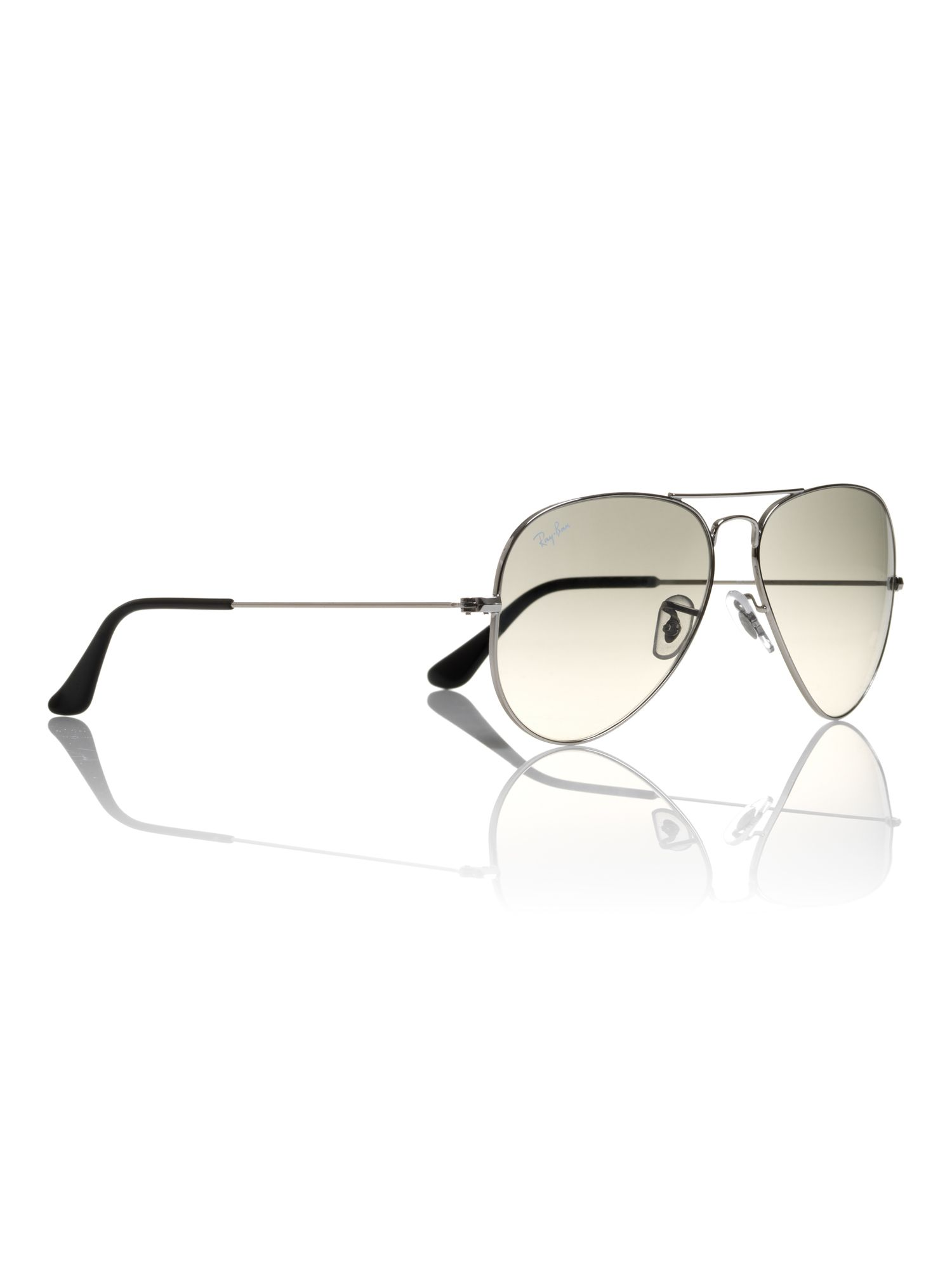 Unisex RB3025 003/32 L.Metal Aviator Sunglasses