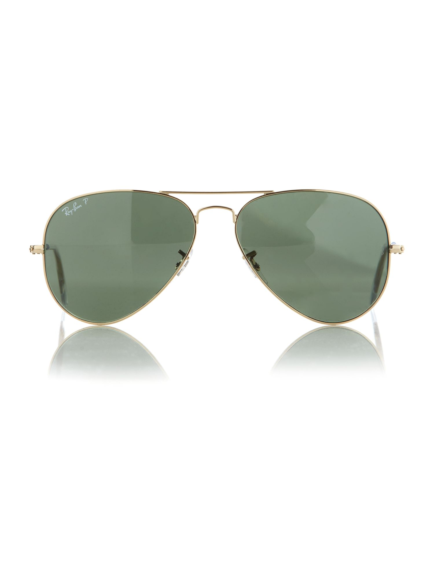 Unisex RB3025 001/58 L.Metal Aviator Sunglasses