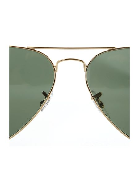 Ray-Ban Unisex RB3025 001/58 L.Metal Aviator Sunglasses